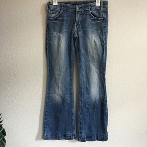 Citizens of humanity sparrow #170 Faye wide jeans